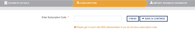 Onboarding_Subsciption details