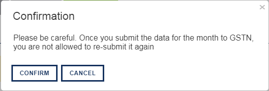 Sapphire_GSTR 1_Submit confirmation