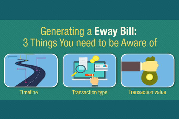 3 Things You should be Aware of before Generating an E-way Bill