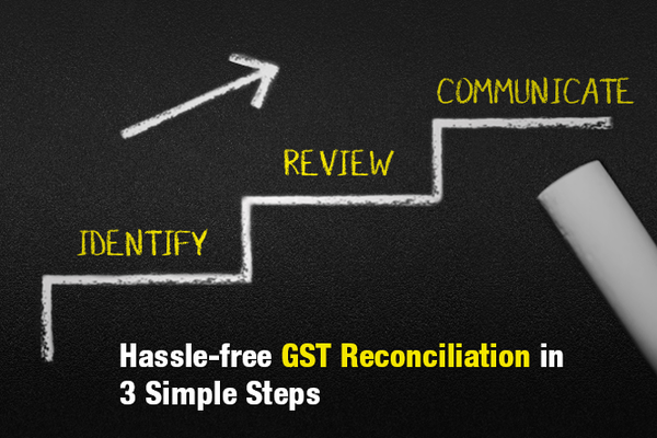 Your 3-step Guide to a Hassle-free GST Reconciliation