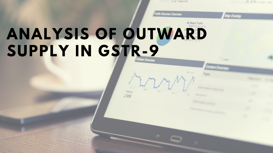 Analysis of GSTR9