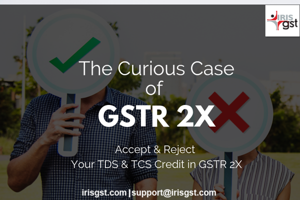 Curious case of GSTR2X